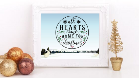 All Hearts Come Home printable