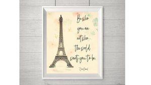 Be Who You Are printable