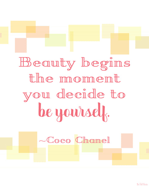 Beauty Begins printable