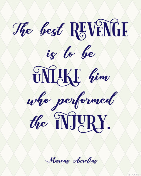 The Best Revenge printable