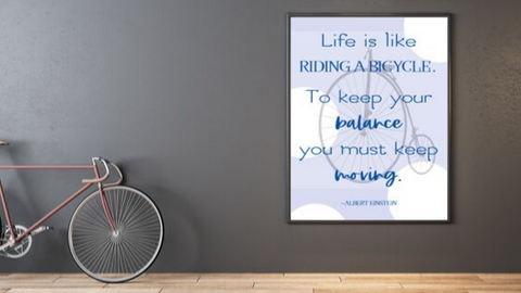 Like Riding a Bicycle printable