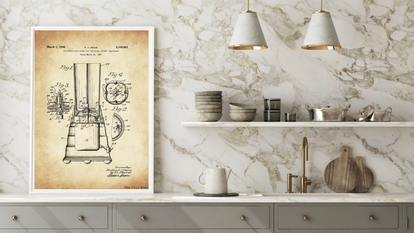 1938 Blender Patent Drawing