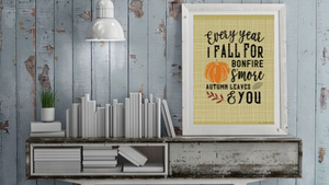 Every Year I Fall For... printable
