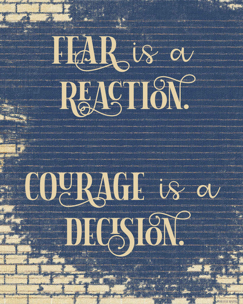 Fear or Courage printable