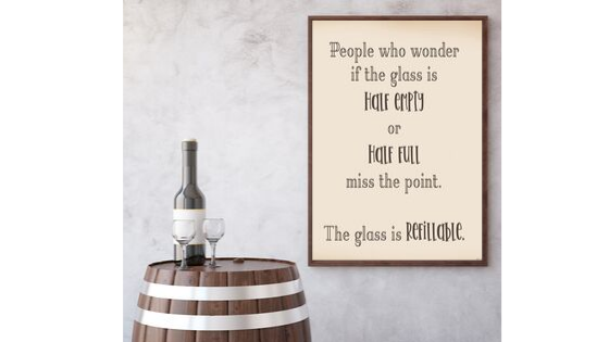 Glass Refillable printable