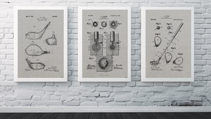 Set of Golf Patent Drawings