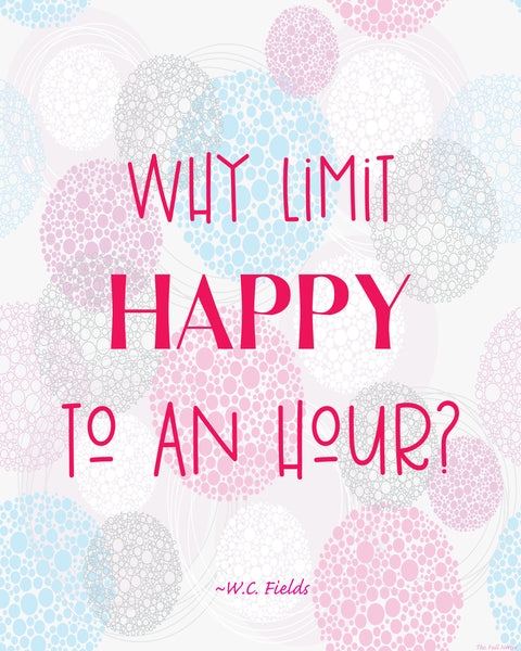 Happy Hour printable