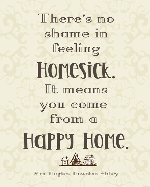 Homesick printable