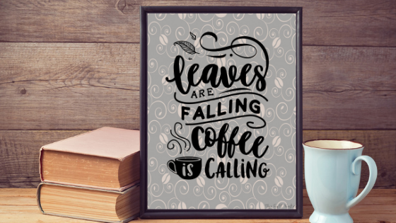 Leaves are Falling printable