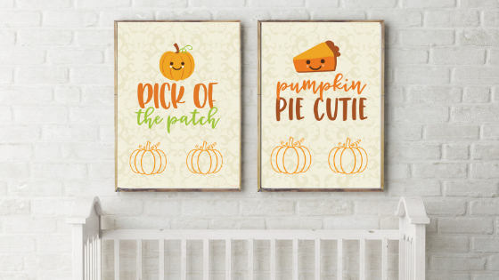 Pumpkin Pie Cutie printable