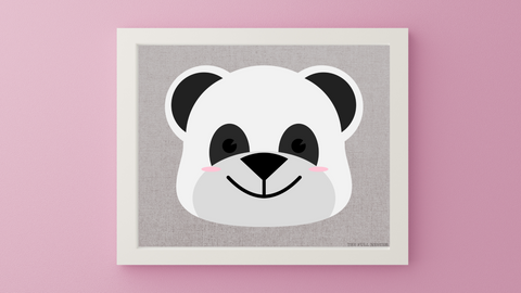 Baby Jungle Panda Nursery Printable