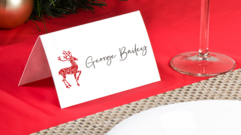 Reindeer Placecards