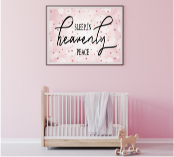 Sleep in Heavenly Peace printable (girl)