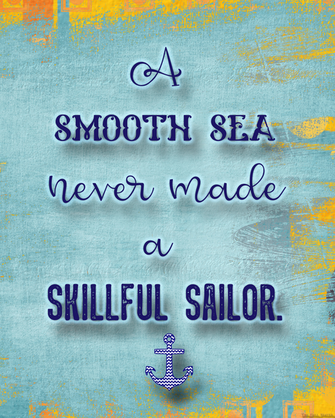 Smooth Sea printable