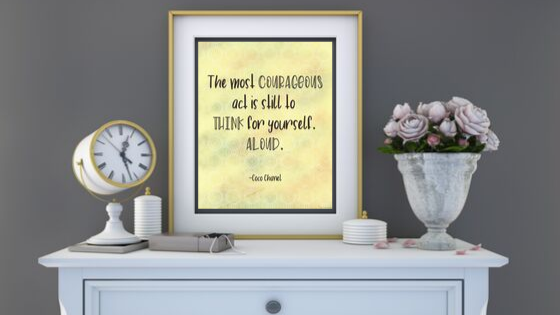 The Most Courageous Act printable