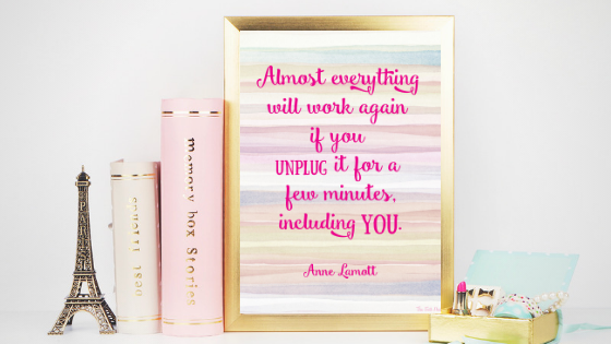 Unplug printable