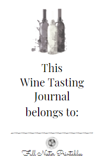 Wine Tasting Journal - [100 pages]