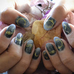 Gilded Serpents - Nail Wrap - Scratch - 6
