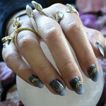 Gilded Serpents - Nail Wrap - Scratch - 4