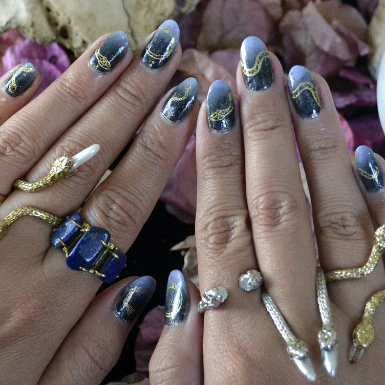 Gilded Serpents - Nail Wrap - Scratch - 7
