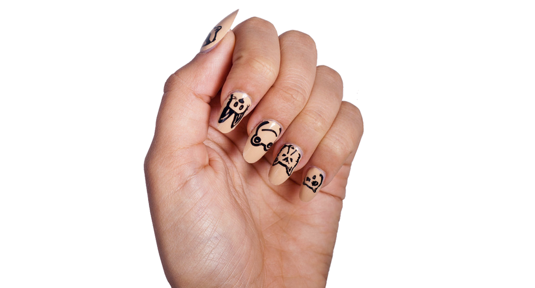 Animal Party - Nail Wrap - Scratch - 2