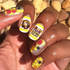 Bee Happy - nail wraps - Scratch - 6