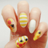 Bee Happy - nail wraps - Scratch - 5