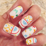 Butterfly Bliss - nail wraps - Scratch - 4