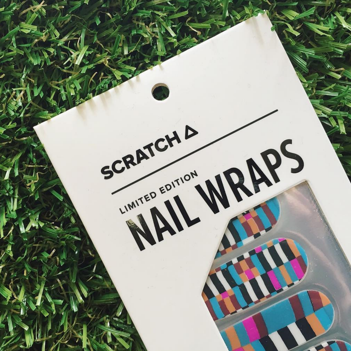 Check - nail wraps - Scratch - 4