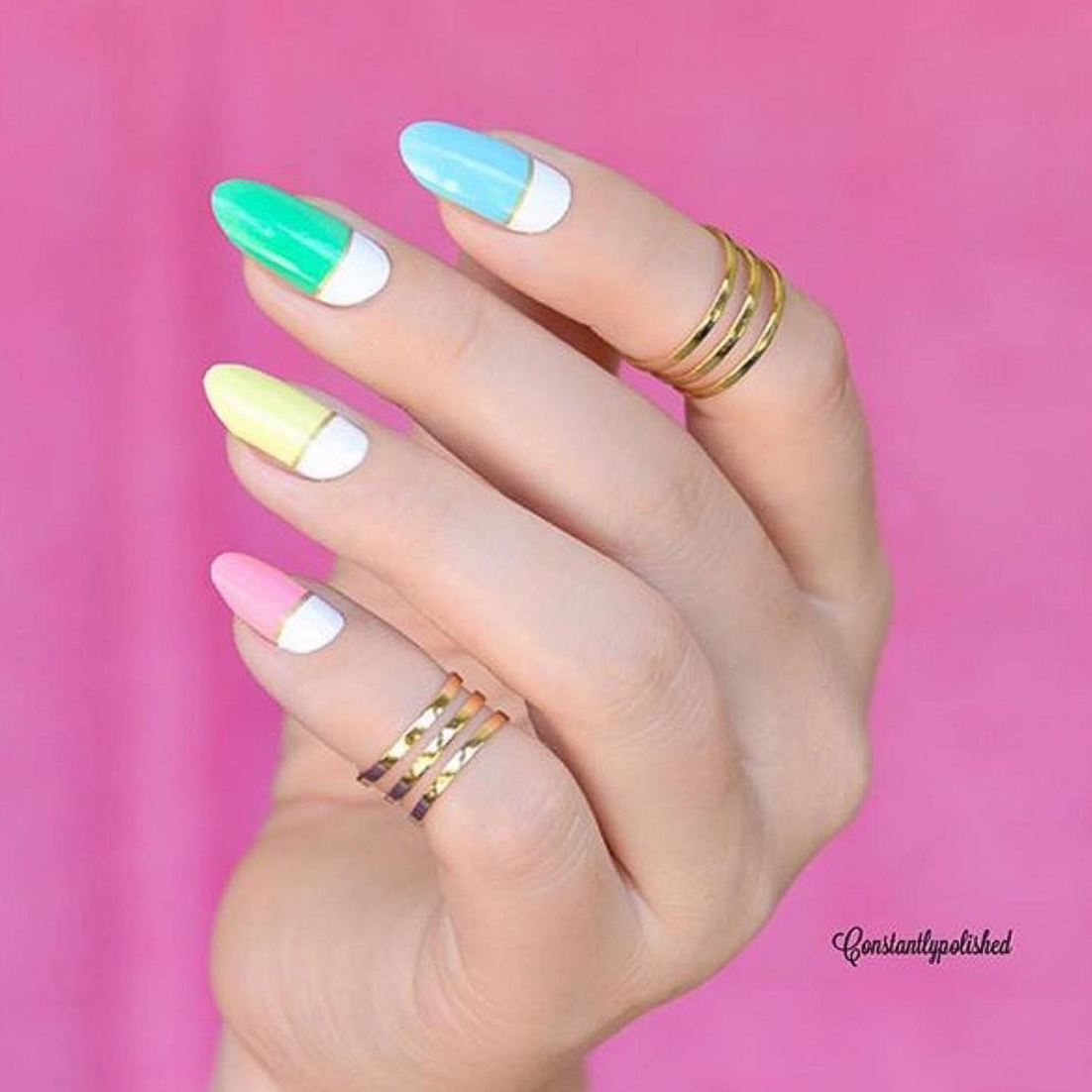 Day-glo - nail wraps - Scratch - 5