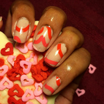 Heartbeats - nail wraps - Scratch - 4