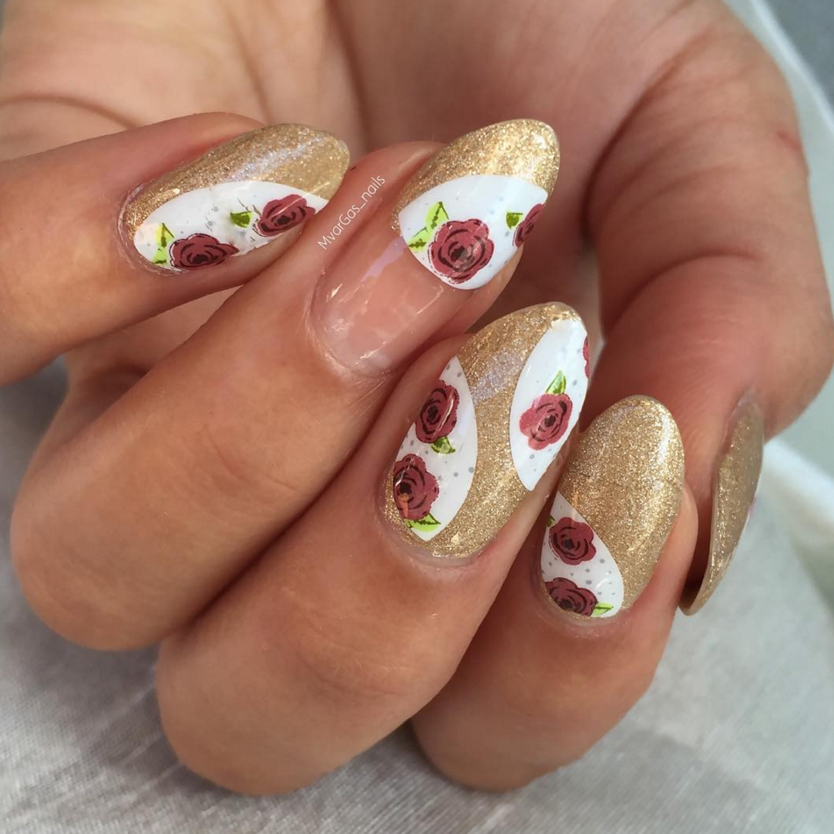 May Flowers - nail wraps - Scratch - 4