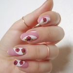 May Flowers - nail wraps - Scratch - 5