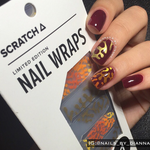 Ode to Matisse - nail wraps - Scratch - 7