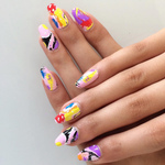 Popsicle Puddle - nail wraps - Scratch - 5