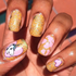 Unicorn - nail wraps - Scratch - 5