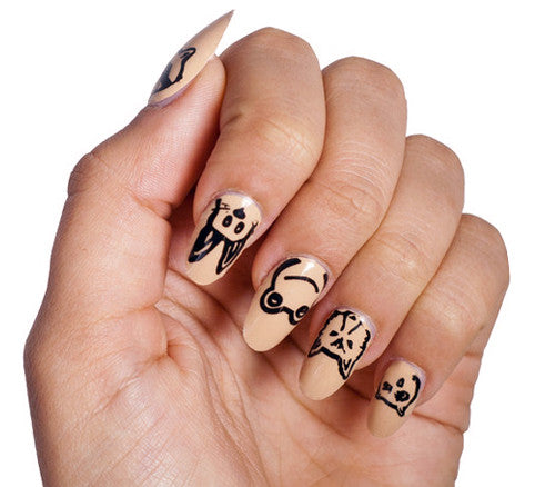 Animal Party - Nail Wrap - Scratch - 1