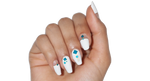 Beach Deco - nail wraps - Scratch - 2