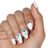 Beach Deco - nail wraps - Scratch - 3