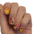 Bee Happy - nail wraps - Scratch - 3