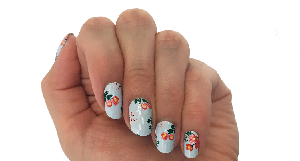Bloom - nail wraps - Scratch - 2