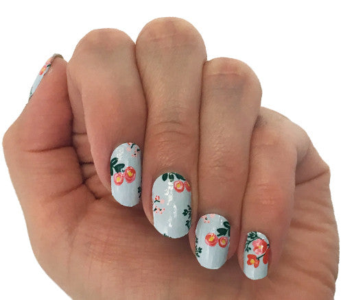 Bloom - nail wraps - Scratch - 1