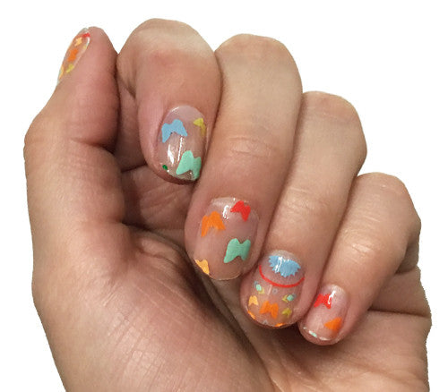 Butterfly Bliss - nail wraps - Scratch - 1