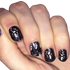 Dancing Skeletons - nail wraps - Scratch - 3