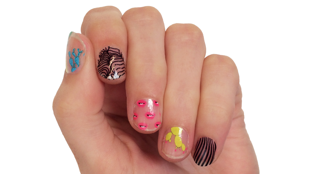 Desert Dreams - nail wraps - Scratch - 2