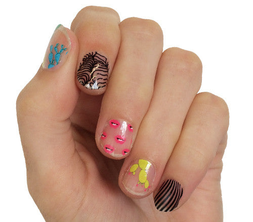 Desert Dreams - nail wraps - Scratch - 1