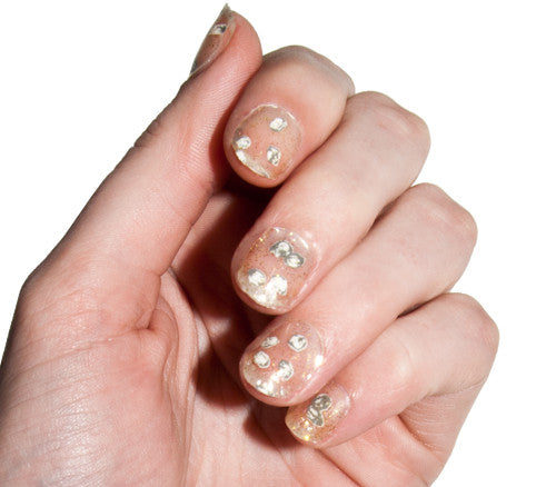 Herkimer Diamonds - Nail Wrap - Scratch - 1