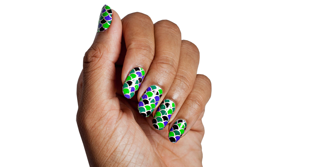 Dragons Den - Nail Wrap - Scratch - 3