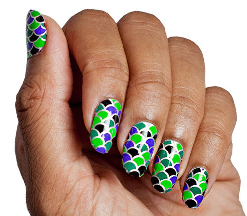 Dragons Den - Nail Wrap - Scratch - 1