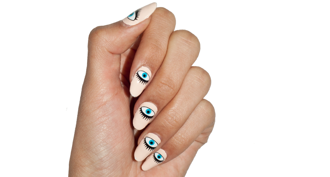 All-Seeing Eyes - nail wraps - Scratch - 2